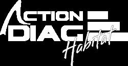 ACTION DIAG HABITAT LOGO BLANC VALIDE¦ü